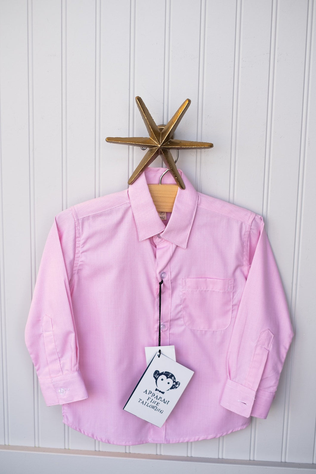 APPAMAN BOYS DRESS SHIRT