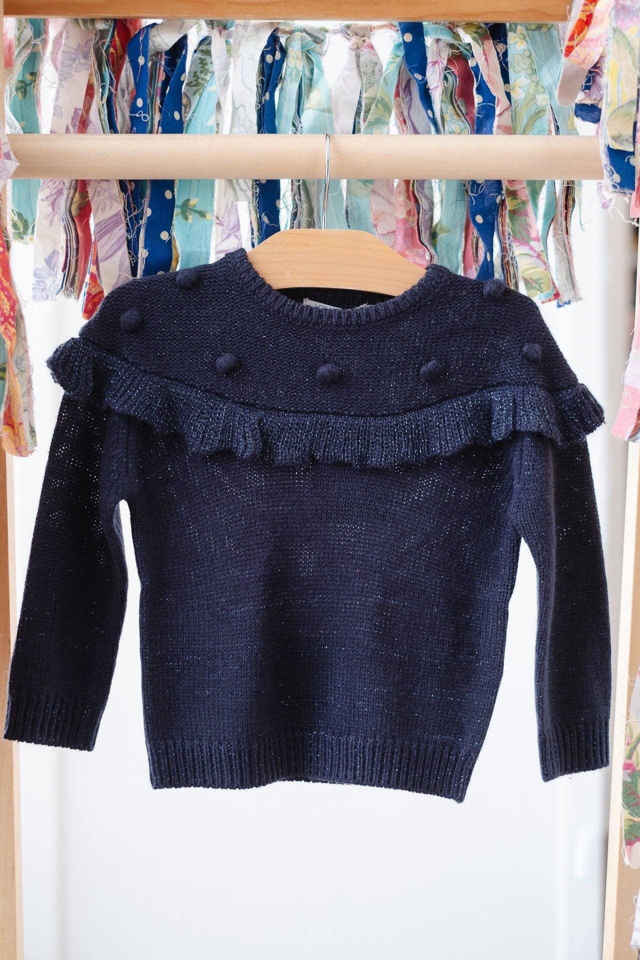 Losan Girls Navy Pullover 026-5792