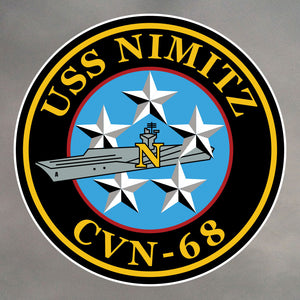 USS Nimitz Stickers 0001