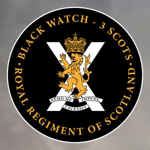 Black Watch Stickers 0002