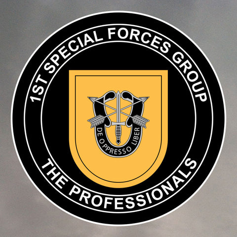 1st Special Forces Group Sticker