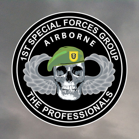 1st Special Forces Group Skull Stickers 0014