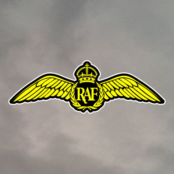 ROYAL AIR FORCE DIE CUT STICKER 0015