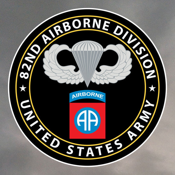 82nd Airborne Stickers 0020