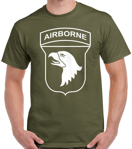 101st Airborne Patch T-Shirt 0040