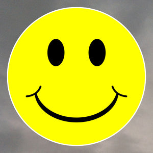 SMILEY FACE ROUND STICKERS 0076