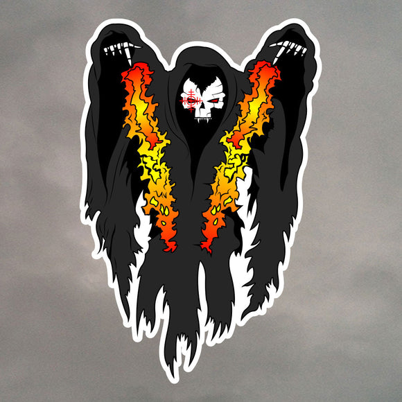 AC130 Spooky Gunship Stickers