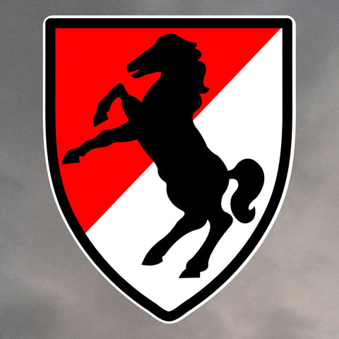 11th ARMORED CAVALRY REGIMENT STICKERS 0137