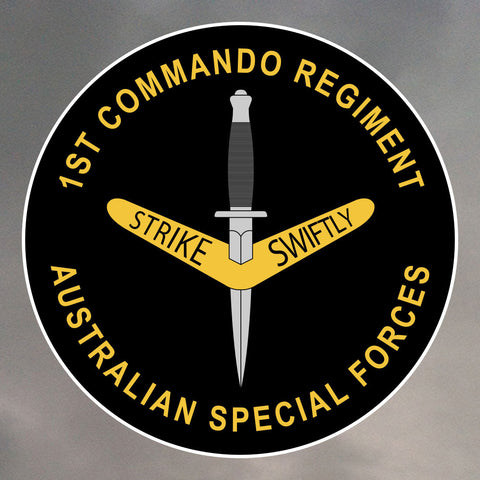 1st Commando Regiment Stickers 0139