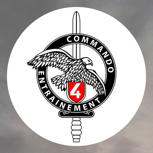 FRENCH COMMANDO STICKERS 0158