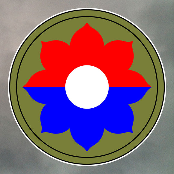 9th Infantry Division Stickers 0165