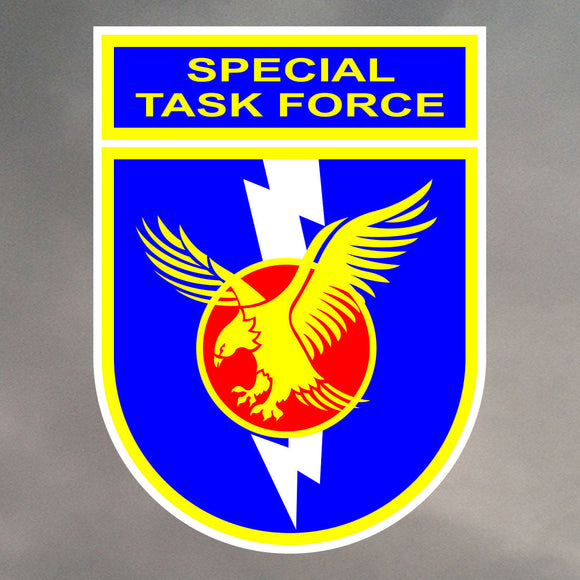 SOUTH AFRICAN POLICE SERVICE - SPECIAL TASK FORCE STICKERS 0168