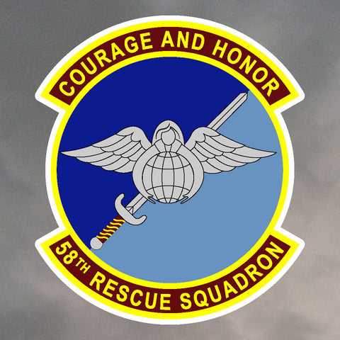 58th Rescue Squadron Stickers 0210