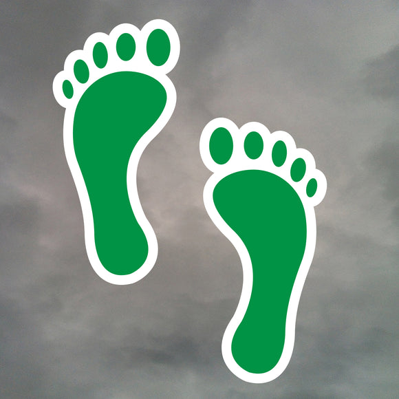 PARARESCUE PJ FEET STICKERS 0243