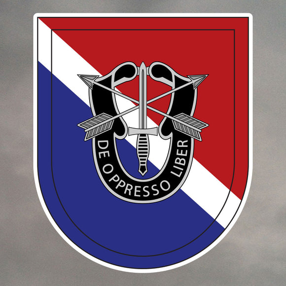 11th Special Forces Group Flash Stickers 0251