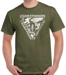 Foreign Legion 2 REP Insignia T-Shirt 0280