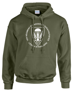 Foreign Legion Airborne Hooded Sweatshirt