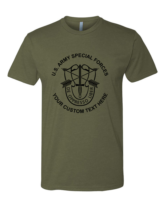 CUSTOM SPECIAL FORCES TSHIRT