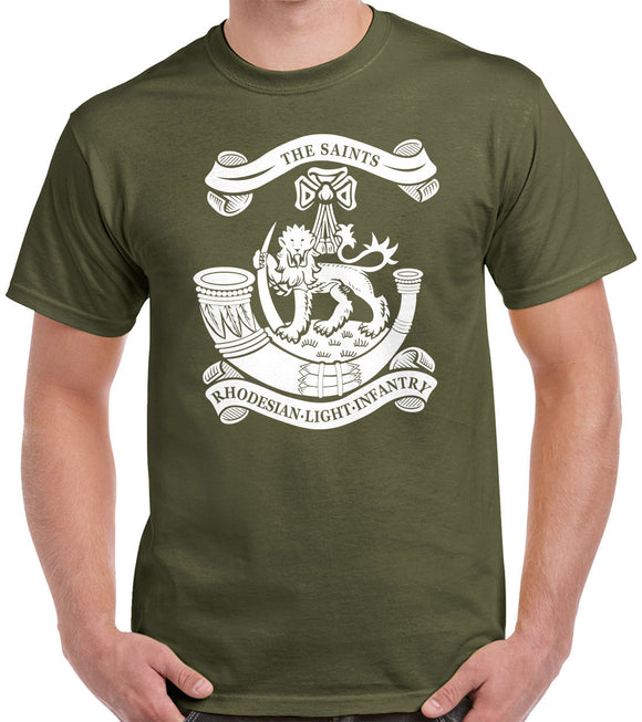 Rhodesian Light Infantry T-Shirt 0514