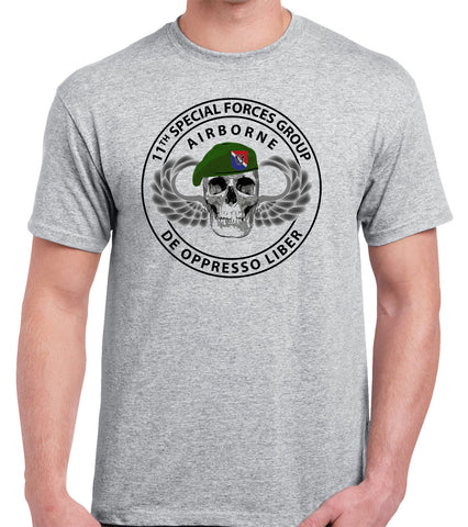 11th Special Forces Group T-Shirt 0530