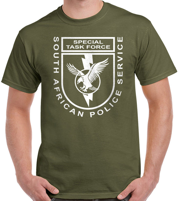 South African Police Service - Special Task Force T-Shirt 1062