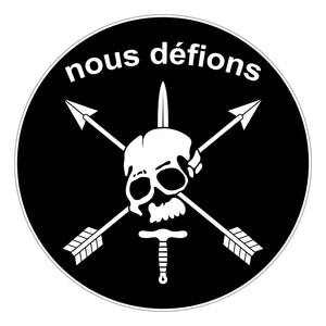Nous defions special forces stickers