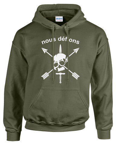 Nous Defions Special Forces Hoodie - 1128H