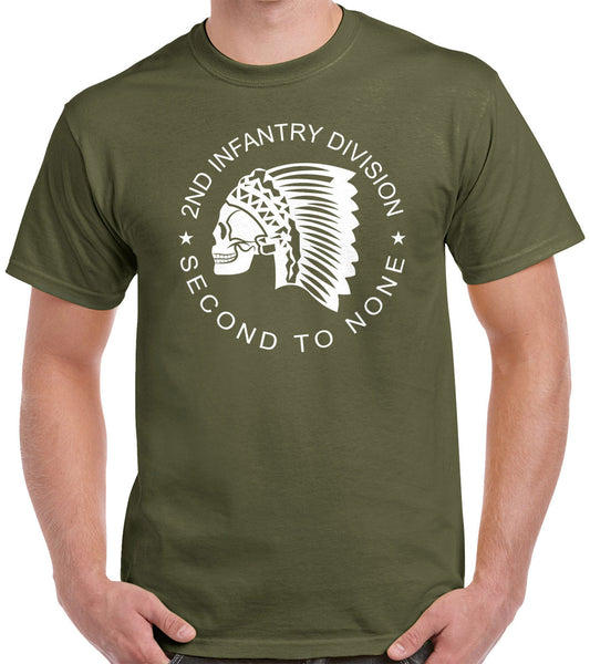 2nd Infantry Division T-Shirt 1180
