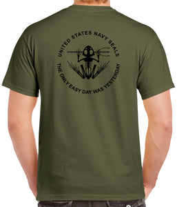 Navy Seal Bonefrog 2 Sided T-Shirt 1436-2