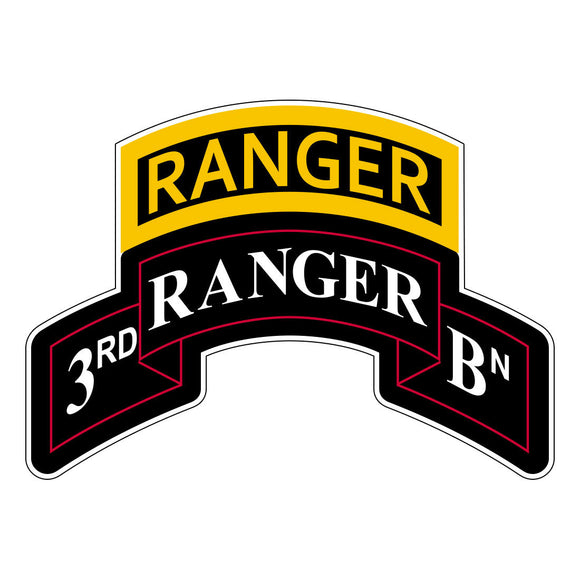 Ranger Stickers - 3rd Battalion