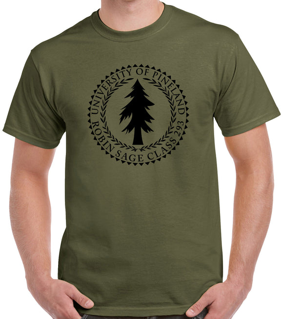 Custom Special Forces Shirt - Pineland