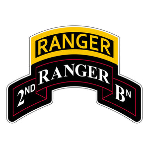 Ranger Stickers - 2nd Battalion