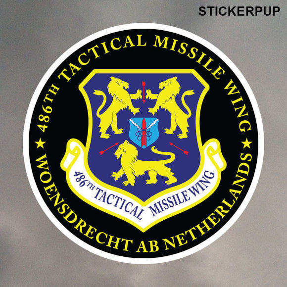 486th TMW GLCM ROUND STICKER 0188