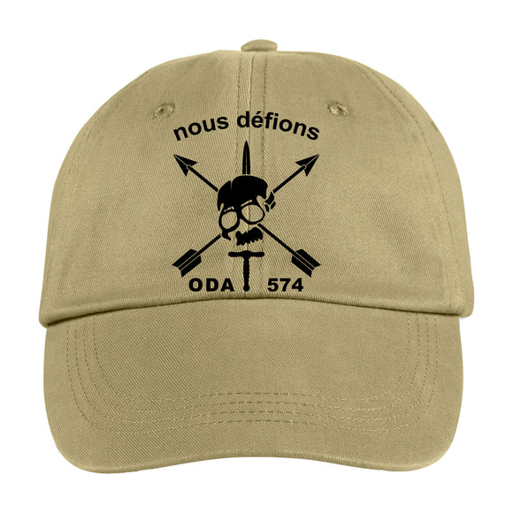 Nous Defions Special Forces Custom Hat