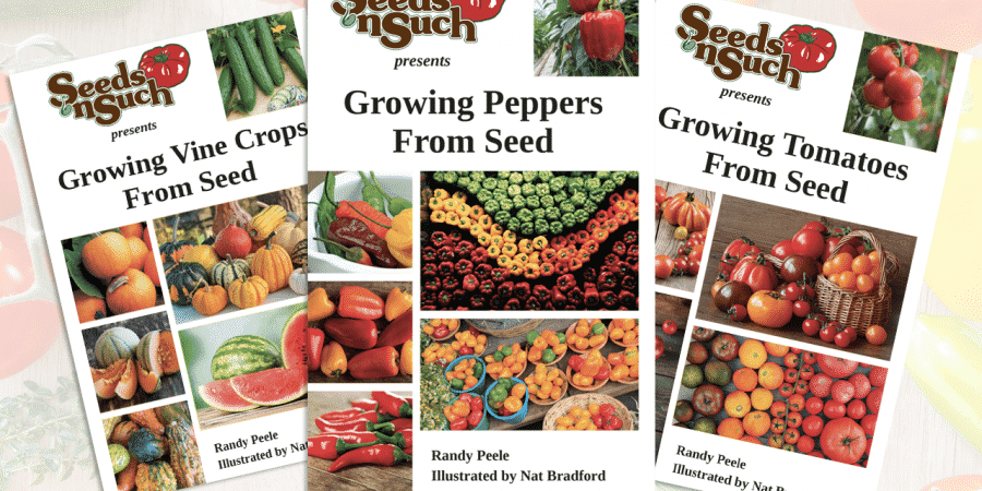 Free Early Bird Order Seed Packets; New Vine Crops Growing Guide