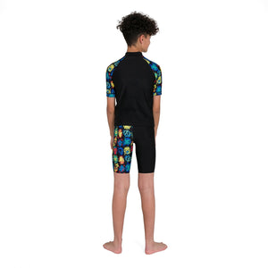 SPEEDO MARVEL RASH TOP - JUNIOR MALE