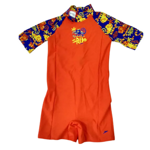 SPEEDO JUNGLE BUDDIES ESSENTIAL ALL-IN-ONE SUIT - TOTS