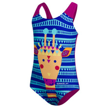 Load image into Gallery viewer, SPEEDO JUNGLEGINA DIGITAL APPLIQUE SWIMSUIT - TOTS GIRL