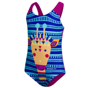 SPEEDO JUNGLEGINA DIGITAL APPLIQUE SWIMSUIT - TOTS GIRL