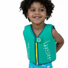 Load image into Gallery viewer, SPEEDO CROC PRINTED FLOAT VEST -TOTS