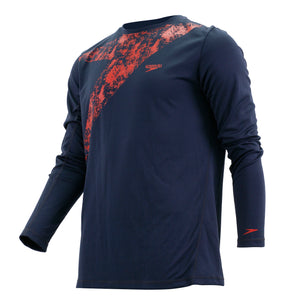 SPEEDO CASUAL MALE WATER TOP LONG SLEEVES