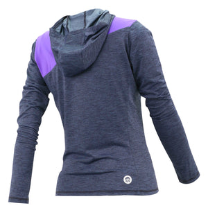 SPEEDO CASUAL FEMALE HOODIE LONG SLEEVES