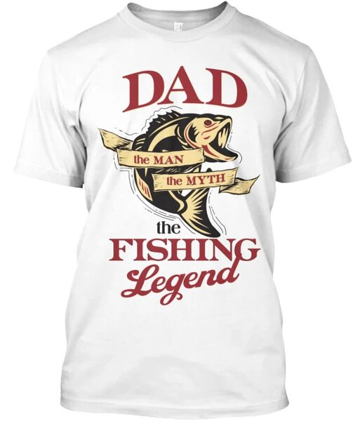 DAD LOVES FISHING