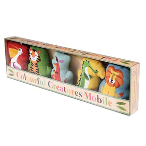 Colourful Creatures Mobile - Say It Baby