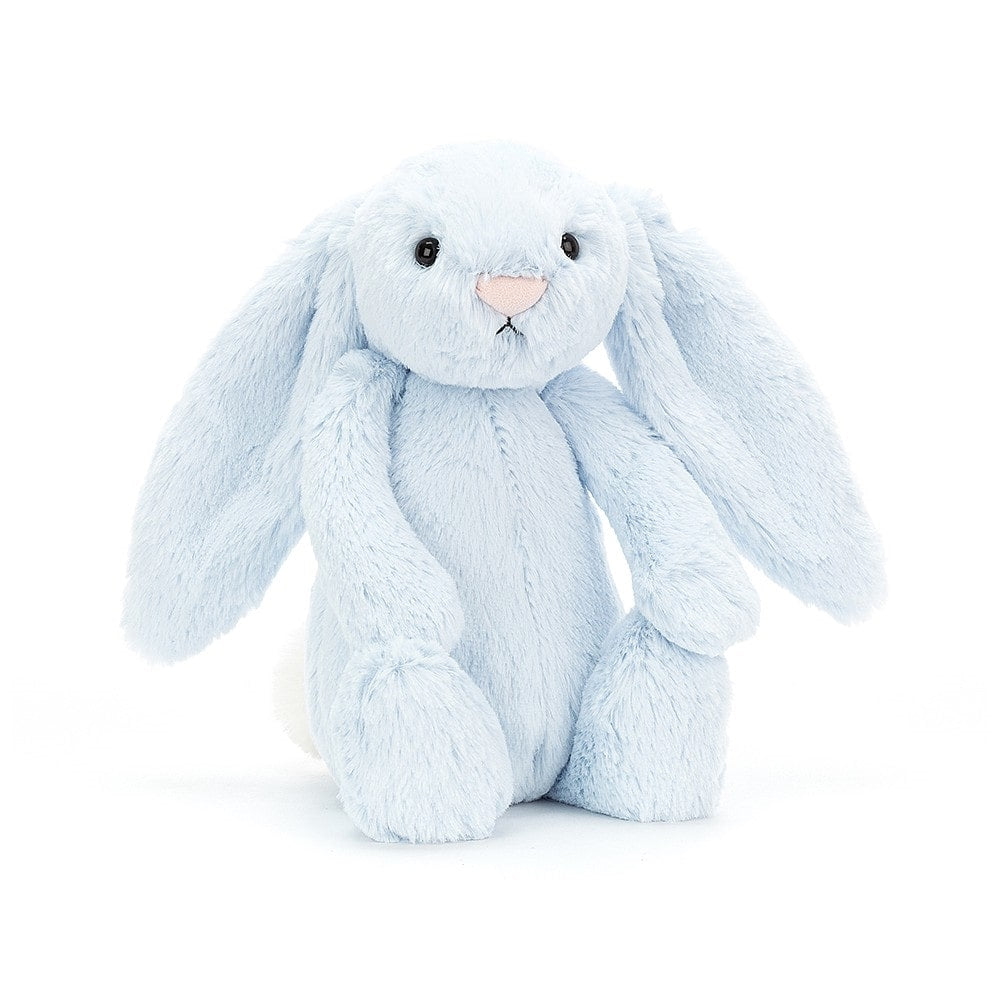 Jellycat Blue Bashful Bunny - Say It Baby
