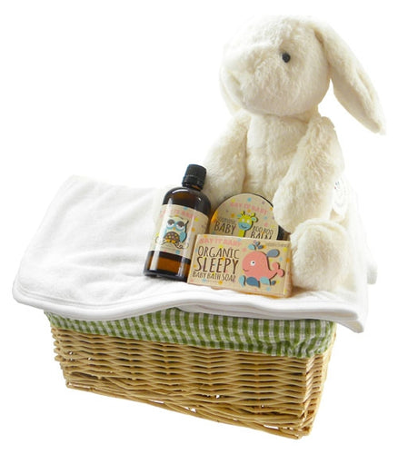 Bath Time Baby Unisex Gift Basket - Say It Baby