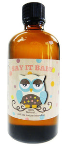 Massage oil in the Bath Time Baby Unisex Gift Basket