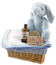 Load image into Gallery viewer, Bath Time Baby Boy Gift Basket - Say It Baby