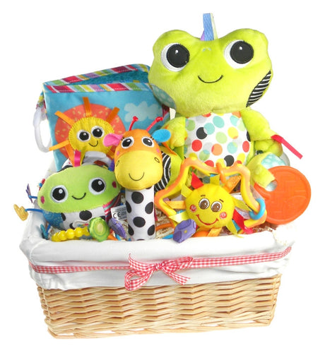 Bright Baby Fun Gift Basket - Say It Baby
