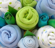 Load image into Gallery viewer, Say It Baby - Baby Boys Muslin Square Bouquet - Say It Baby